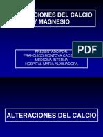 170705 - Alteraciones Del Calcio Fosforo y Magnesio