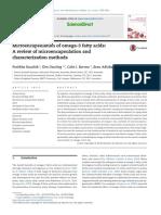 Mikroenkapsulasi Dan Karakterisasi