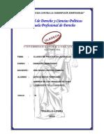 Clases de Procesos Laborales - Derecho Trabajo