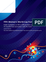 Fifa Women s World Cup France 2019 Public Guidelines English