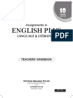 Assignment of English Language Literature Class 10