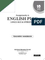 Assignment of English Language Literature Class 10