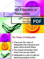 computer nettiquete