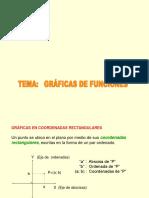 8. Gráficas de Funciones