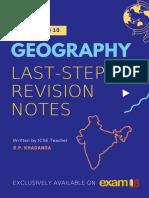 Exam18 ICSE Class 10 Geography Last Minute Revision Notes 2019 Digital Download 2 5d0da8e867e3c e