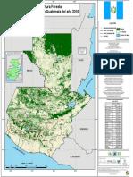 Mapa de Cobertura Forestal de Guatemala 2016