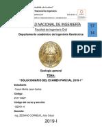 Caratula Solucionario Del Parcial
