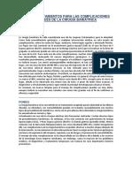 COMPLICACIONES  CIRUGÍA BARIÁTRICA