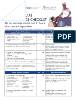 PNC Checklist African