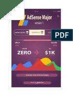 AdSense Major - From ZERO to $1k Monthly_2
