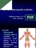 Lecture 09. Juvenile Rheumatoid Artritis