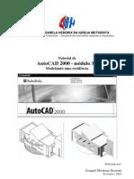 Tutorial Portugues Autocad 2000 3D Modelando Uma Casa