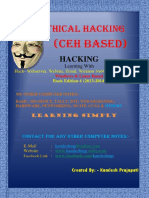 Ethical Hacking- Book Edition 1