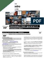E1 2019 - Pedro - Instrucciones - TpNº2 a 6