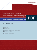 eBook TExES Music EC12 Practice Question 177