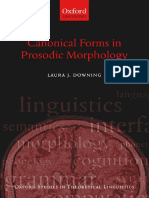 (Oxford Studies in Theoretical Linguistics) Laura J. Downing-Canonical Forms in Prosodic Morphology -Oxford University Press, USA (2006).pdf