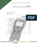 Testo 0563 6251 Temperature Humidity Recorder Manual