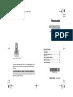Manual_PANASONIC Kxtg1312cx Whampoawest