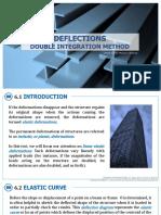 6 CE131P DEFLECTIONS Double Integration Method