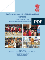 CAG Union Performance Civil Mid Day Meal Report 2015