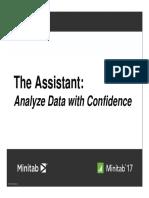 Minitab Assistant in Minitab 17
