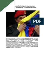 Independencia Nacional parte de un proceso constituyente retomado por el comandante Chávez.docx