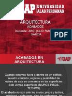 11. Arquitectura de Acabados