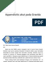 Appendisitis Akut Pada Gravida