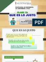 Clase 13 Enfermeria - Etica UAI