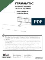 HA8-SP v 3 0 Install Manual