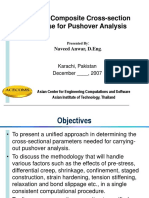 1 Concrete Composite Cross Section Response for Pushover Analysis