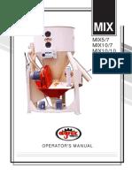 Operating Manual MIX