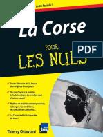 Corse Pour Les Nuls, La - Ottaviani, Thierry