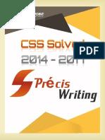 CSS Solved Precis 2014 - 2017.pdf