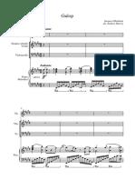 Galop From Orpheus v2 - Full Score
