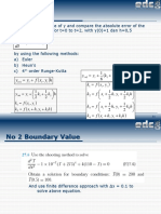 MS3200 Anum ODE, Boundary Value, Eigen Value & PDE Homework