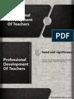 Ppt FIX Teacher Development