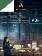 Accor Charte Ethics GB