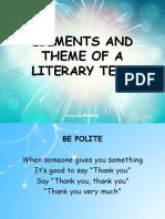 English ElementsOfLiterary Stories WithPic