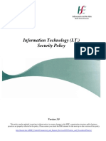 information Tekhnology Secyrity Policy