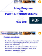 TRAINING ON PWHT&HYDROTEST.PPT