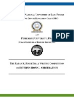 Brochure - Ratan K Singh Essay Writing Competition on International Arbitration - 2.0.pdf
