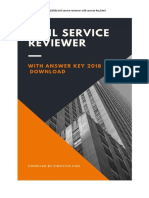 382486781 Civil Service Exam Reviewer With Answer 2018 Pinoytut