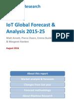 2016-08-03 Iot Global Forecast Analysis 2015-2025