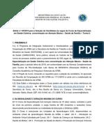 Edital ISC