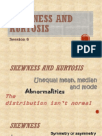 6 Skewness and Kurtosis