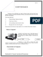 Computer Basics Elements