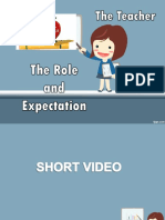 The Teacher Role and Expectation
