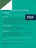 Hirsutism in Women