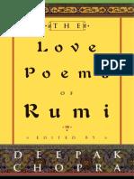 Rumi - Love Poems of Rumi (Harmony, 1998)